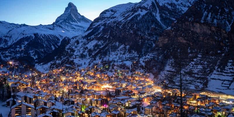 Jeśli zimą na narty to tylko w Alpy Szwajcarskie!